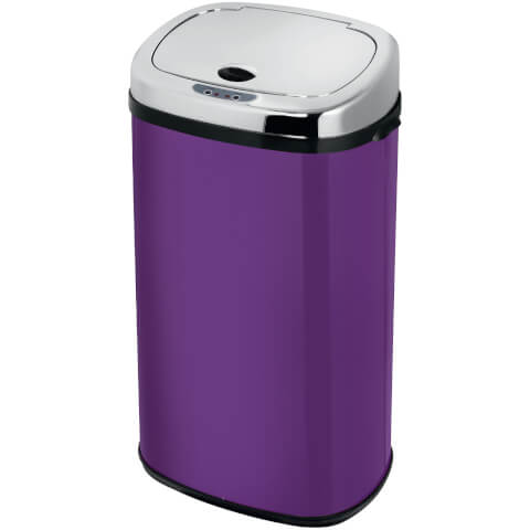 Morphy Richards 971500/MO 42L Square Sensor Bin Orchid