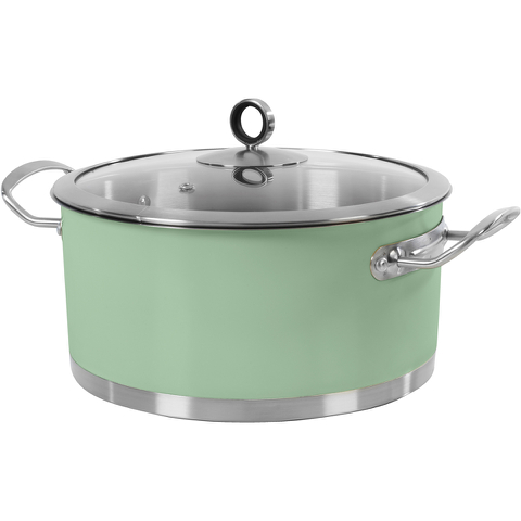 Morphy Richards 973036 Accents 24cm Casserole - Green