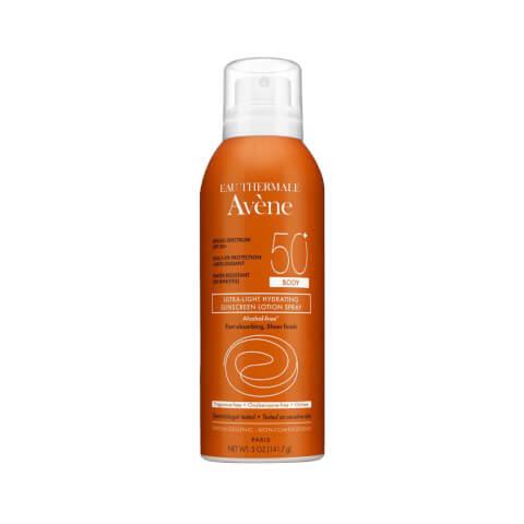 Avène Ultra-Light Hydrating Sunscreen Lotion Spray Body SPF50 5fl. oz
