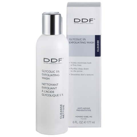 DDF Glycolic 5 Percent Exfoliating Wash