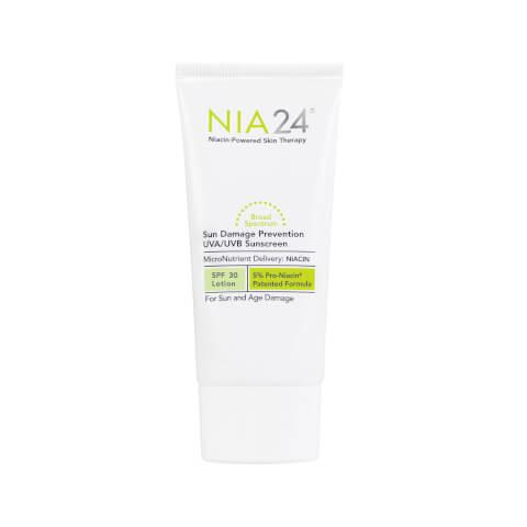 NIA24 Sun Damage Prevention UVA UVB Sunscreen SPF 30