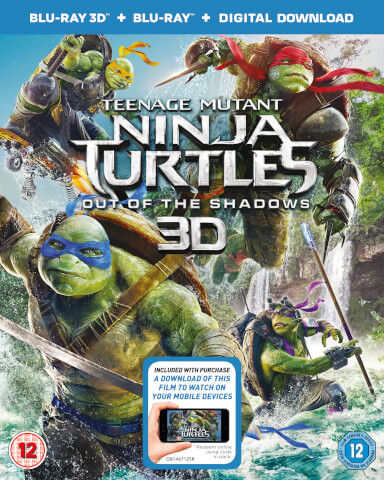 Teenage Mutant Ninja Turtles: Out Of The Shadows 3D (Includes 2D Version)