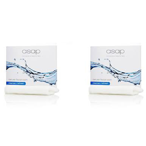 2x asap deluxe facial cloth