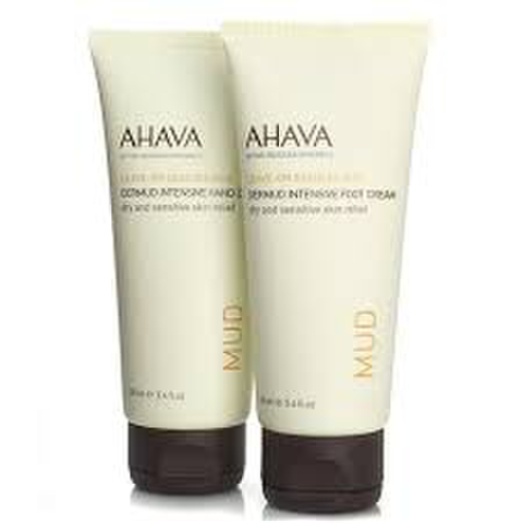 AHAVA Duo Dermud Hand and Foot Cream