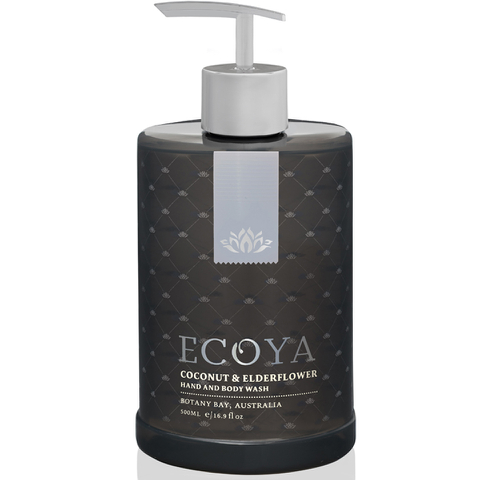 ECOYA Coconut and Elderflower - Hand & Body Wash