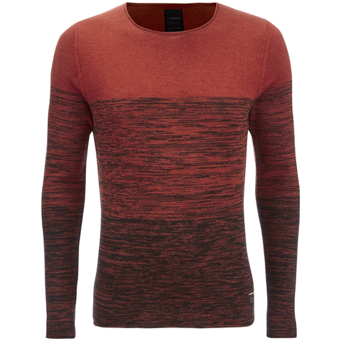 Produkt Men's Basket Contrast Graded Jumper - Potter Clay