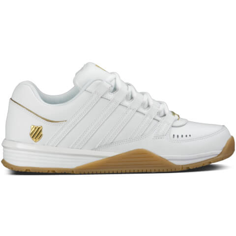 K-Swiss Men's Baxter Trainers - White/Gum
