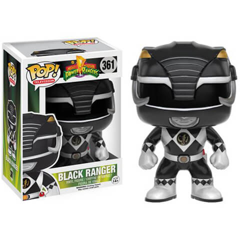 Mighty Morphin Power Rangers Schwarz Ranger Funko Pop! Figur