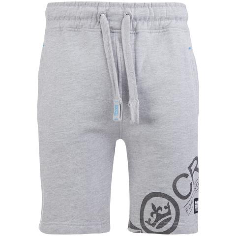 Pantalón corto deporte Crosshatch Pacific - Hombre - Gris