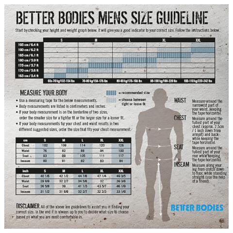 Better Bodies Jersey Hoody - Black