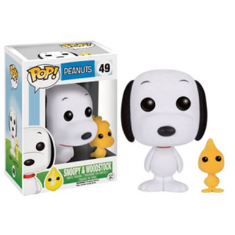 Figurine Snoopy & Woodstock Peanuts Funko Pop!