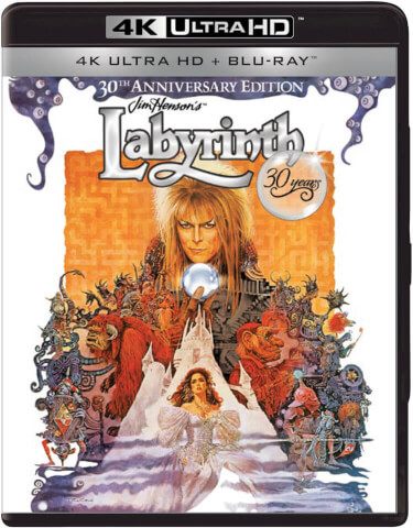 Die Reise ins Labyrinth - 30th Anniversary - 4K Ultra HD