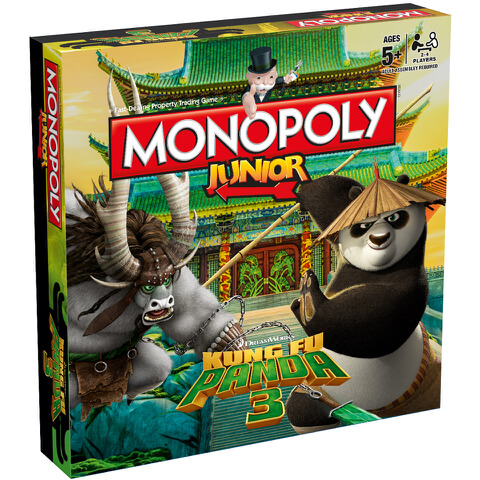 Monopoly Junior - Kung Fu Panda 3 Edition