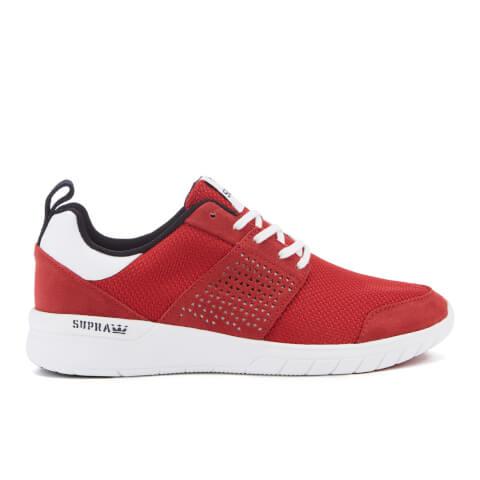 Zapatillas Running Supra Scissor Mesh - Hombre - Rojo