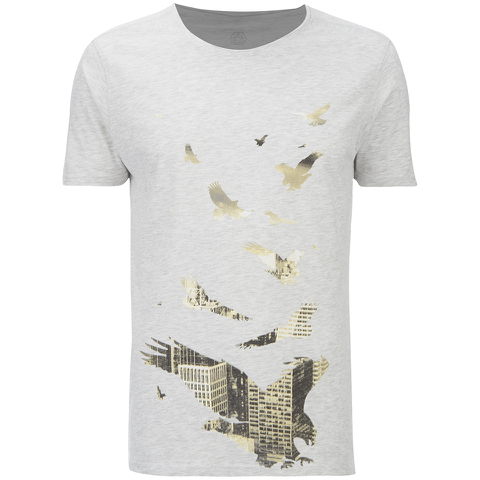 Smith & Jones Men's Dodecastle T-Shirt - Light Grey Marl