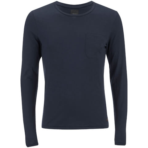 Produkt Men's Slub Pocket Long Sleeve Top - Navy Blazer