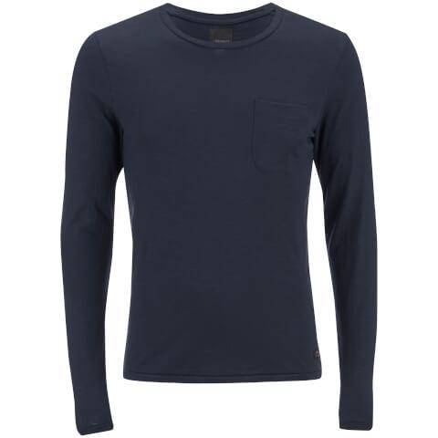 T-Shirt Homme Produkt Slub - Bleu Marine