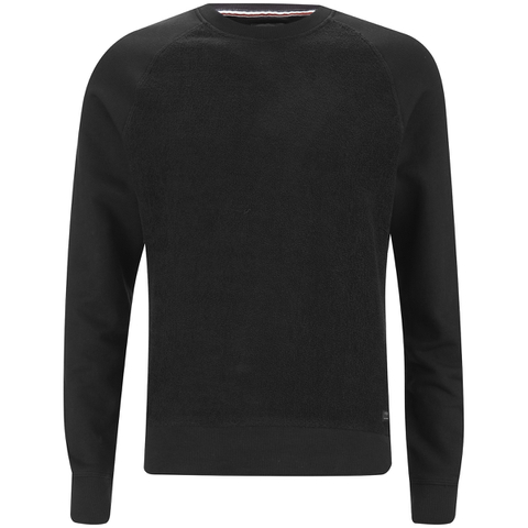 Produkt Men's Knit Raglan Crew Neck Sweatshirt - Black