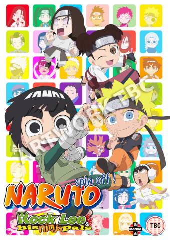 Naruto: Rock Lee and His Ninja Pals - Collection 1
