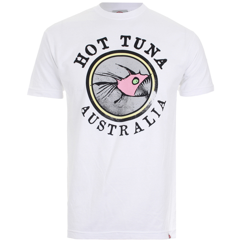 T-Shirt Homme Hot Tuna Australia -Blanc