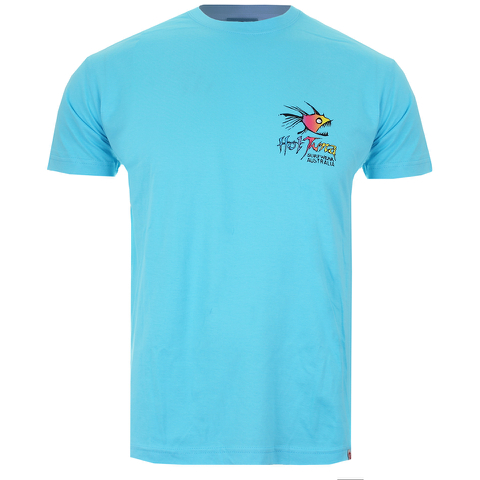 T-Shirt Homme Hot Tuna Rainbow -Bleu