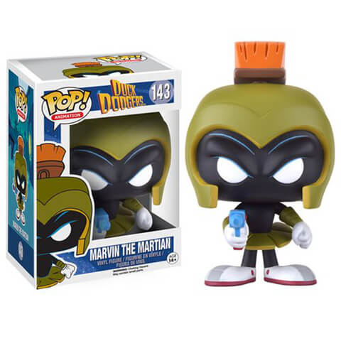 Duck Dodgers Marvin Martian Funko Pop! Figuur