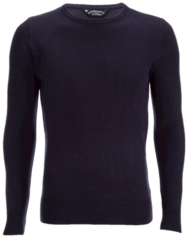 Kensington Eastside Men's Balint Crew Neck Jumper - Eclipse Blue