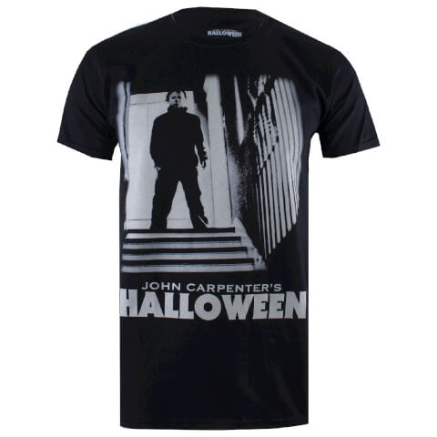 Halloween Mens Myers T-Shirt - Zwart