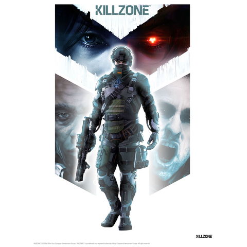 Killzone Soldier Art Print - 14 x 11