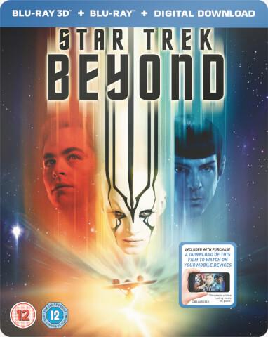 Star Trek Beyond 3D (Includes 2D Version) - Limited Edition Steelbook (UK EDITION)