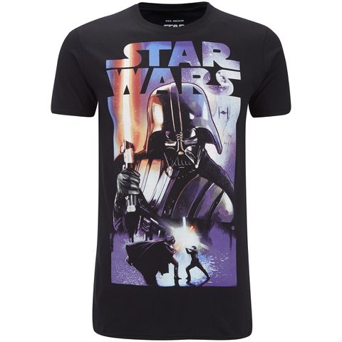 Star Wars Men's Vader Dark Side T-Shirt - Black