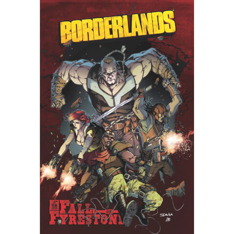 Borderlands: Fall of Fyrestone - Volume 2 Graphic Novel
