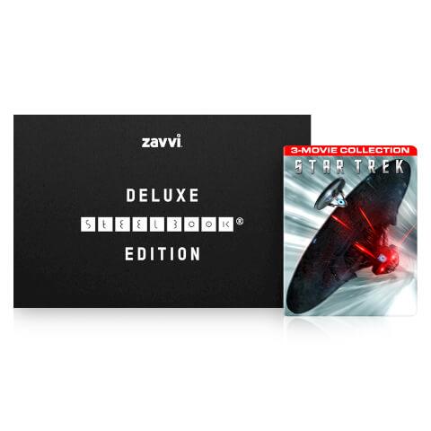 Star Trek 1-3 Deluxe Collector's Edition - Zavvi Exclusive Steelbook