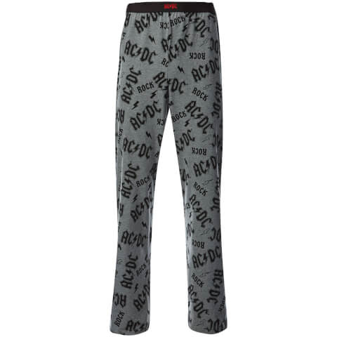 ACDC Men's Lounge Pants - Grey