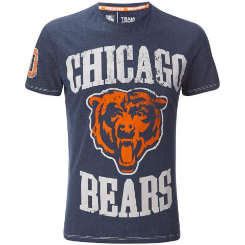 T-Shirt Homme NFL Chicago Bears Homme -Bleu Marine