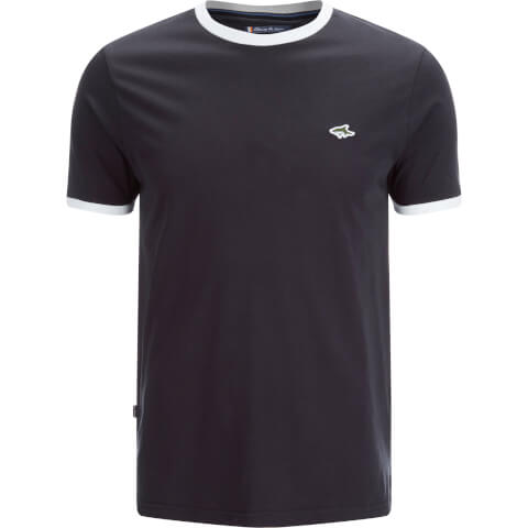 Le Shark Men's Davenant Ringer Crew Neck T-Shirt - Navy