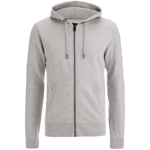 Sweat à Capuche Homme Smith & Jones Amorino - Gris Chiné