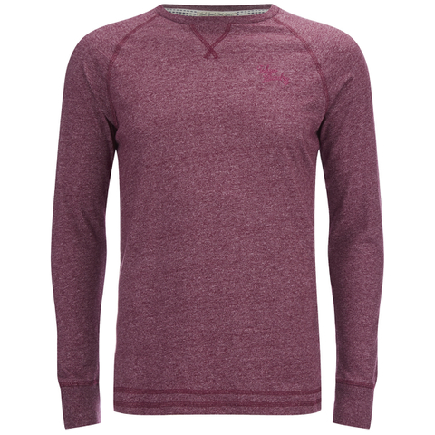 Tokyo Laundry Men's Port Hayward Long Sleeve Top - Oxblood