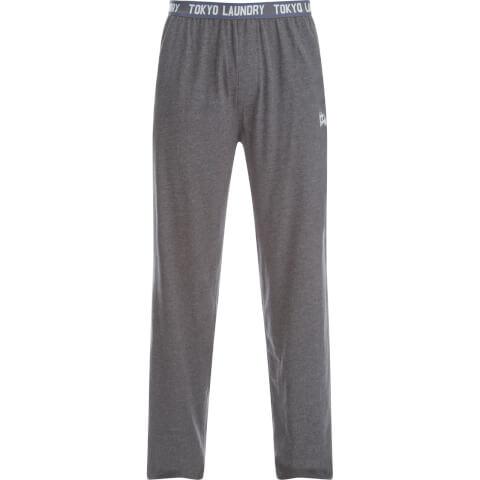 Tokyo Laundry Men's Corsham Jersey Lounge Pants - Charcoal Marl