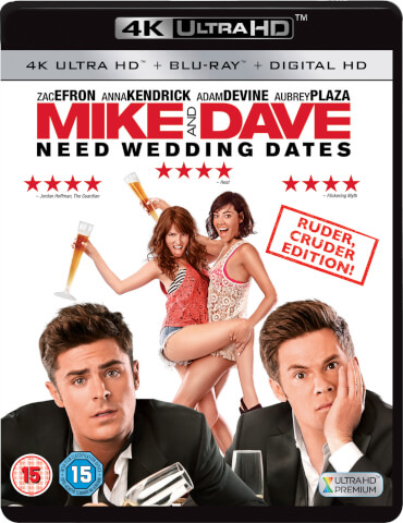 Mike and Dave Need Wedding Dates - 4K Ultra HD (Includes UltraViolet Copy)