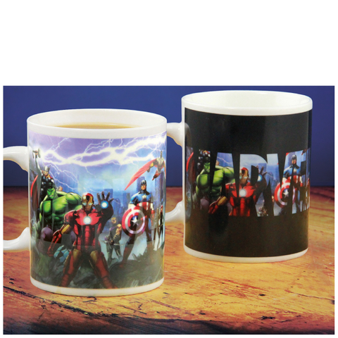 Marvel Heat Changing Mug