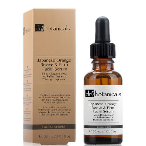 Dr Botanicals Japanese Orange Revive & Firm Facial Serum 30ml