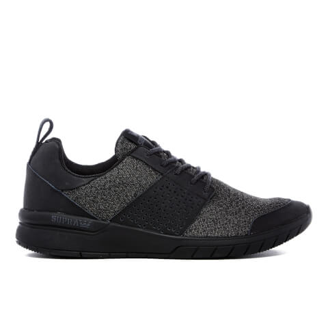 Supra Men's Scissor Mesh Trainers - Black