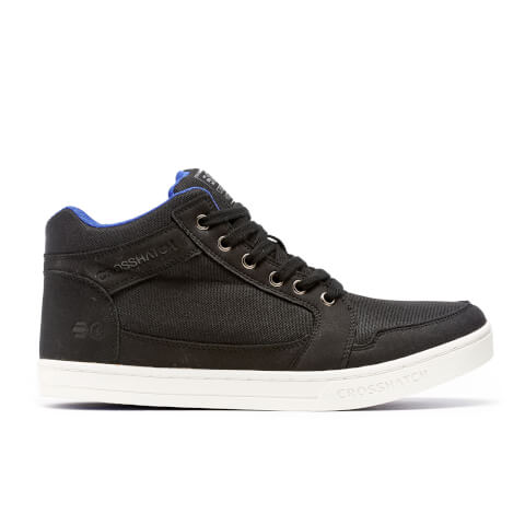 Crosshatch Herren Ryders High Top Trainers - Black