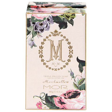 MOR Triple Milled Soap 180g - Marshmallow