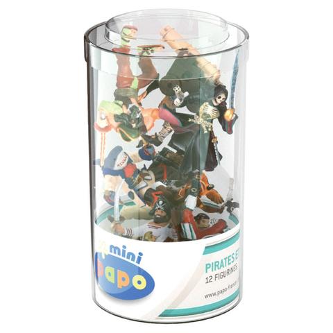 Papo Mini Plus Pirates and Corsairs Tube (12 Pieces)