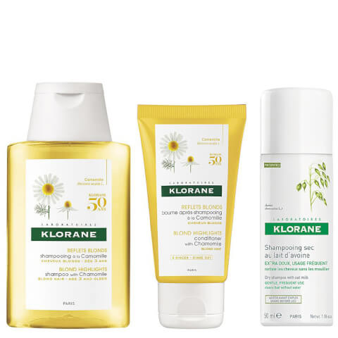 KLORANE Sunshine Blond Routine set