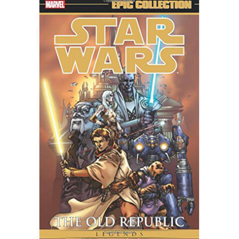 Star Wars Legends Epic Collection: The Old Republic Vol. 1 Paperback Graphic Novel