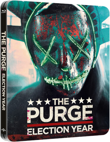 The Purge: Election Year – Zavvi Exclusive Limited Edition Steelbook (Limited to 2000 Copies)