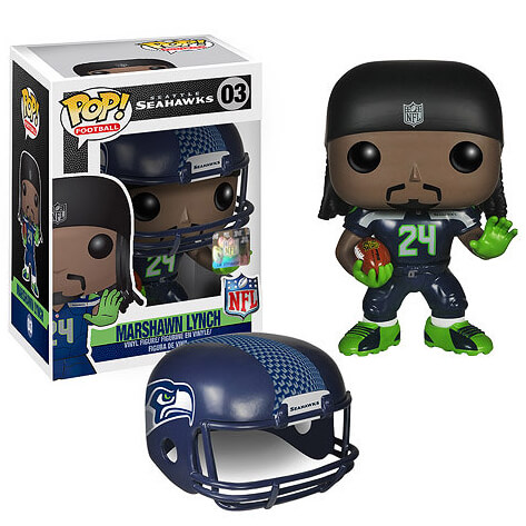 NFL Marshawn Lynch Wave 1 Pop! Vinyl Figure